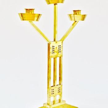 Jugendstil candlestick - Art Nouveau