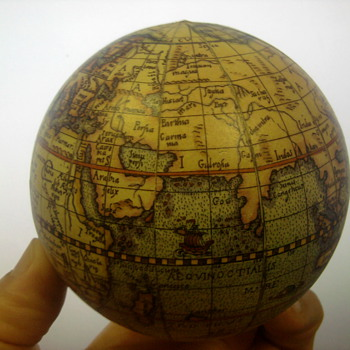 Rand Mcnally Globes from around 1952 - Office