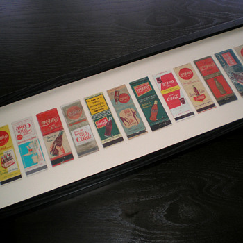 Coca-Cola Matchbook collection - Coca-Cola