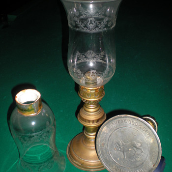 Candle holders by Sherwood & Son-Birmingham England - Lamps