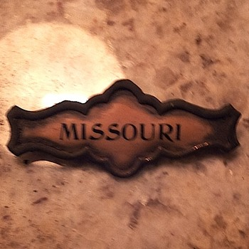 Old Missouri Badge/Pin
