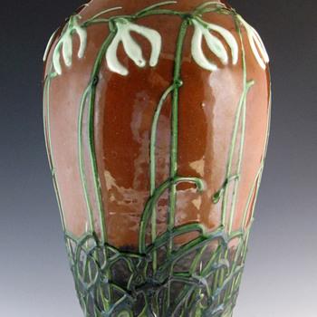 Max Läuger - Kandern Tonwerke Vase for La Maison Moderne (Paris) - Art Nouveau