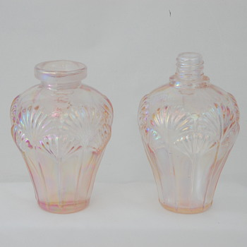 Pink Iridescent Scent Bottles