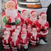 Santa Blow Molds