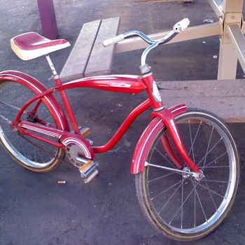 "1970 circa All Pro 16"" convertable bike"