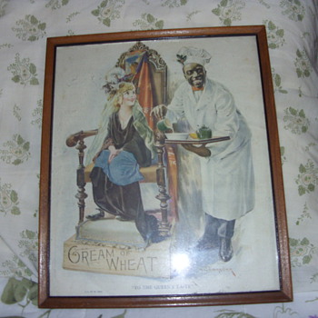 early 1900s cream of wheat pictures - Posters and Prints