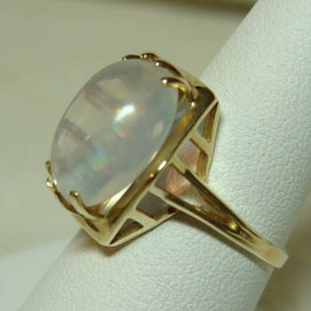 Art Deco Opal Ring