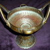Vintage Hatti Hammered Copper Bowl made in Turkey