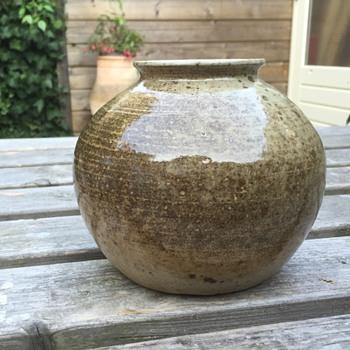 Mystery mark on vase 2 - round vase - Pottery
