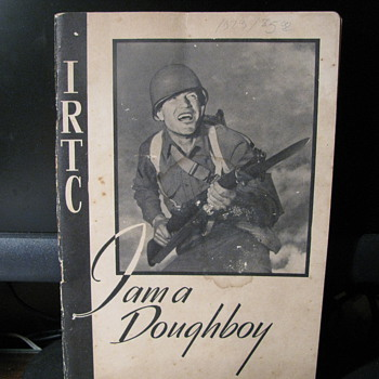 I am a Doughboy Feb. 1945 - Military and Wartime