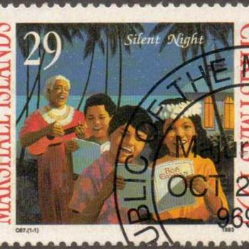 "Marshall Islands ""Christmas"" Postage Stamps"