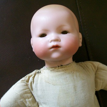 Hard to Find 1920's Madame Hendren Doll Bisque Dream baby 514 Crier