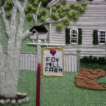 MORE SCENES OF THE FOX HILL FARM SAMPLER