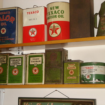 Texaco Can Collection