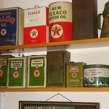 Texaco Can Collection - Petroliana