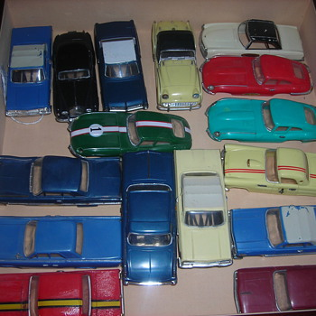 Motorific cars were battery powered fun in the 60's.   - Model Cars