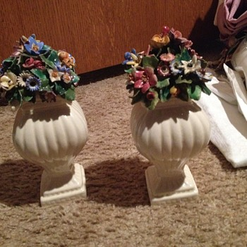Floral ornaments - Pottery