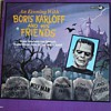 """An Evening with Boris Karloff and His Friends"" Record"