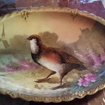Limoges Game Bird 13 Piece Plate Set  - China and Dinnerware