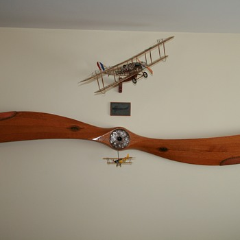 American Propeller Company, Paragon Model for a Curtiss Jenny - Advertising