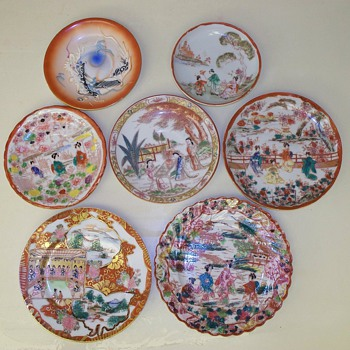 Asian Porcelain Plate Collection - Asian
