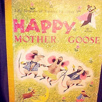Mother Goose, Robert McCloskey Book, 1941 - Books