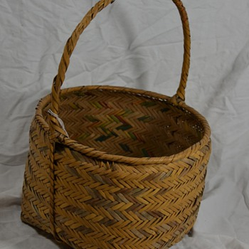 Native Egg Basket or Other Storage