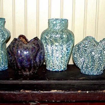 DUGAN POMPIEAN GLASS - Art Glass