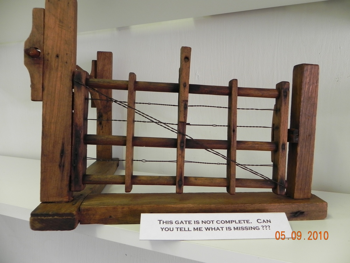 Automatic farm gate patent model collectors weekly