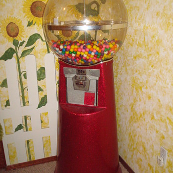 gumball machine question - Coin Operated