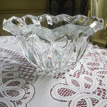 JG Durand Cristal Calliope Bowl- France