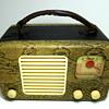 Trav-Ler Tube Radio 1947 Snakeskin