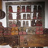 Antique chinese foo dogs