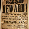 $250 Reward! - 1875 Wells Fargo Robbery Reward