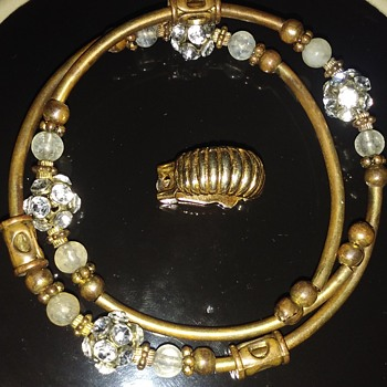 Bracelet/Pin - Costume Jewelry