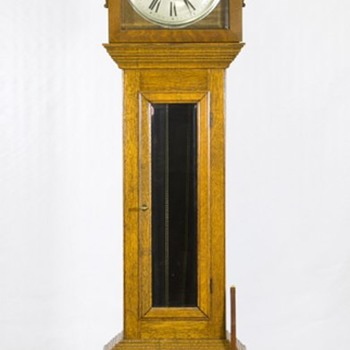 Tallcase Oak Grandfather clock