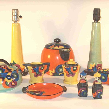 Mrazek Deco Patterns - Art Pottery