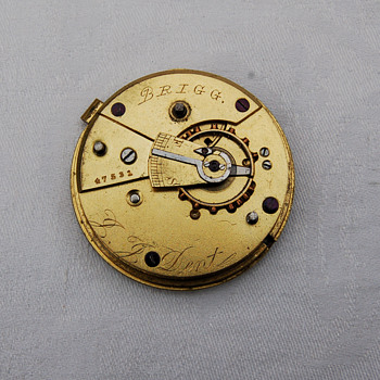 J J Dent Silver Pocket Watch from 1823 ????? - Pocket Watches