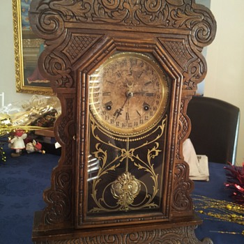 Waterbury clock I got from my grandfather. - Clocks