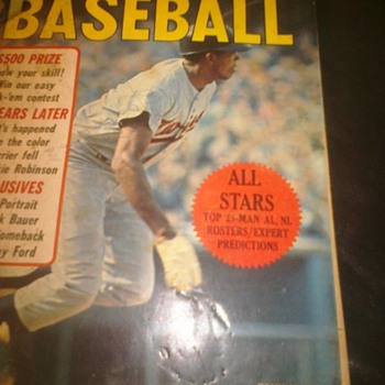 Sport All Stars 1967           Tony Oliva - Baseball