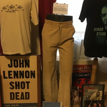 John Lennon owned and worn pants- 1967