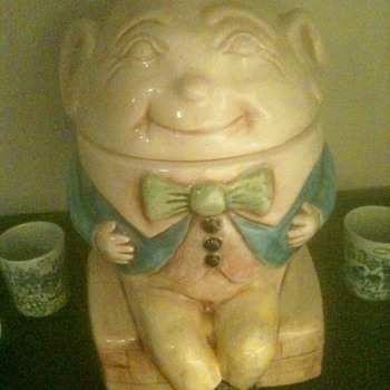 Maddux of California Humpty Dumpty Cookie Jar