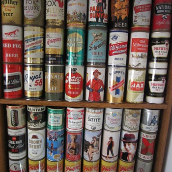 Some Beer Cans and Bottles From My Collection