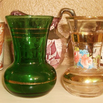 Little Vases/ Does anyone know anything about these? - Art Glass
