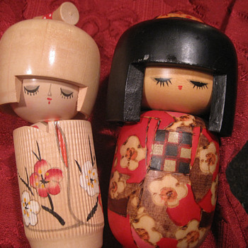 Kokeshi Dolls - Asian