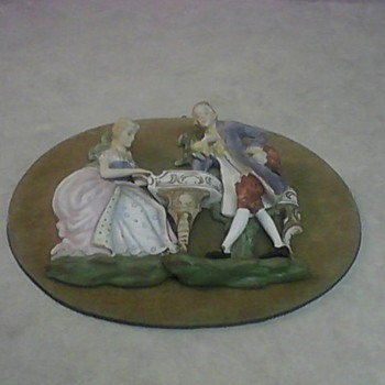 VINTAGE PORCELAIN WALL PLAQUES