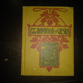 The Boyhood of Jesus small hardback book