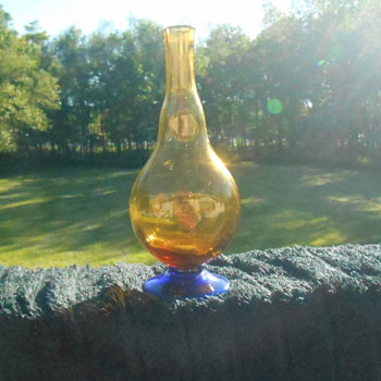 Art Glass Decanter - Art Glass