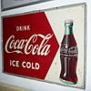 Coca Cola Tin Sign 1950's