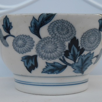 Chinese antique bowl & cups